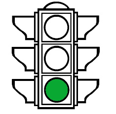 A traffic light with only the green light on, , representing the Litigation Readiness/Preparedness Assessment for eDiscovery stage 5
