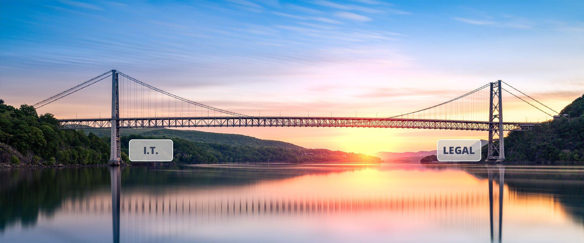 A bridge with a