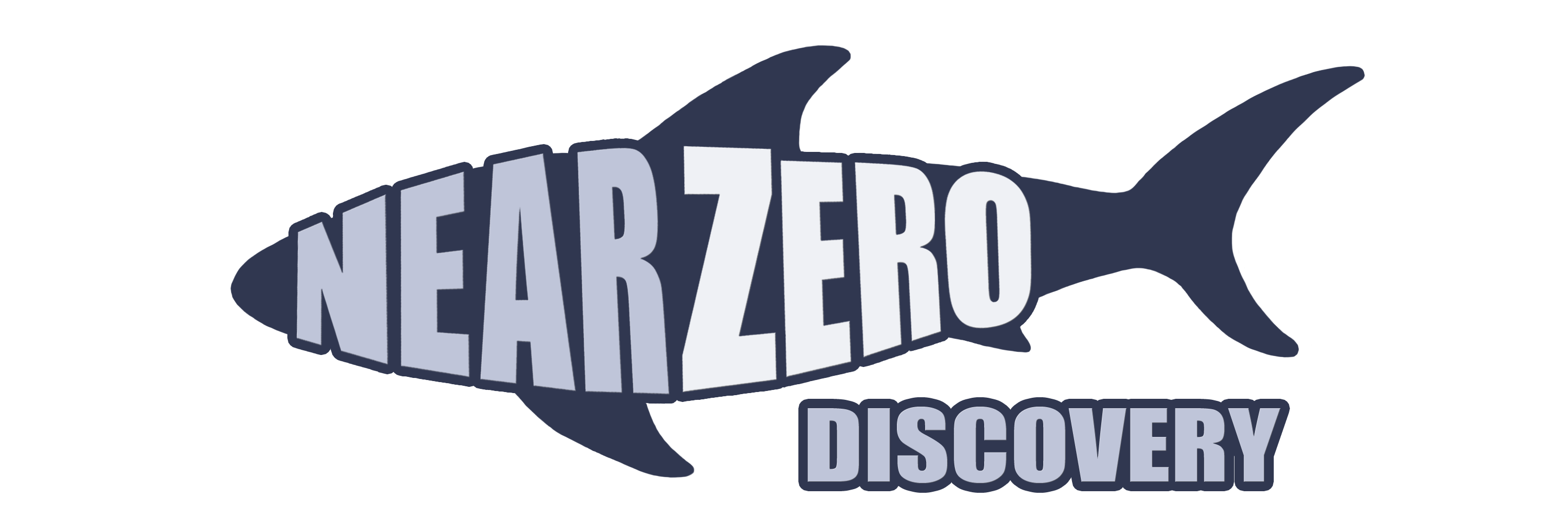 "Our NearZero Discovery logo - A shark with ""NearZero"" written across it and Discovery written underneath. The NearZero Discovery service offered by REW Computing includes full end-to-end eDiscovery services for Newmarket, Toronto, the GTA, and Ontario, Canada. ( near zero discovery or nearzerodiscovery )"